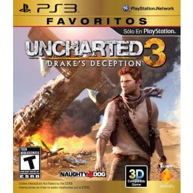 Videojuego PS3 Uncharted 3 Drake´s Deception