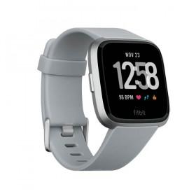 Fitbit Versa Smartwatch Gray-Silver Aluminum
