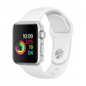 Apple Watch S1 38M Silver / White