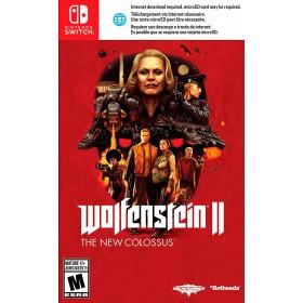 Videojuego SWITCH Wolfenstein II The New Colossus