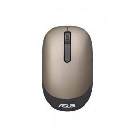 Mouse ASUS Óptico Inalámbrico WT205 Dorado