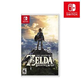 Videojuego Switch Legend of Zelda: Breath of the Wild