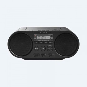 Boombox SONY con CD ZS-PS50 color negra.