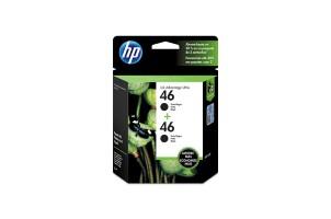 Dual Pack HP Cartucho 46 Negro5