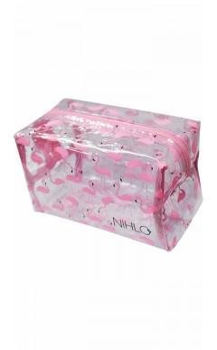 Cosmetiquera Flamingos NIHLO