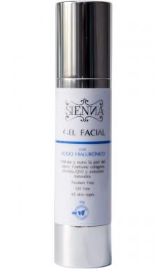 Gel facial ácido hialurónico