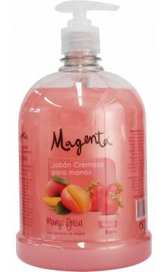 Jabón Líquido de Manos cremoso Mango Fresa 1litro