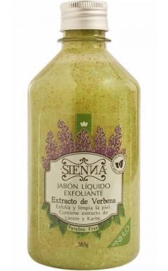 Jabón Exfoliante Verbena 375g Sienna