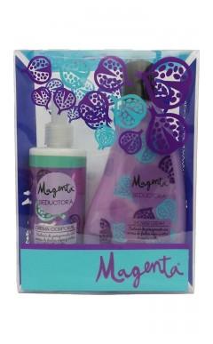 Kit jabón de ducha + Crema Magenta Seductora