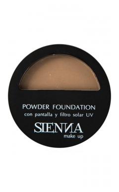 Polvo Compacto Sienna Makeup Almond