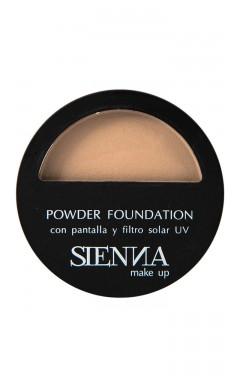 Polvo Compacto Sienna Makeup Natural