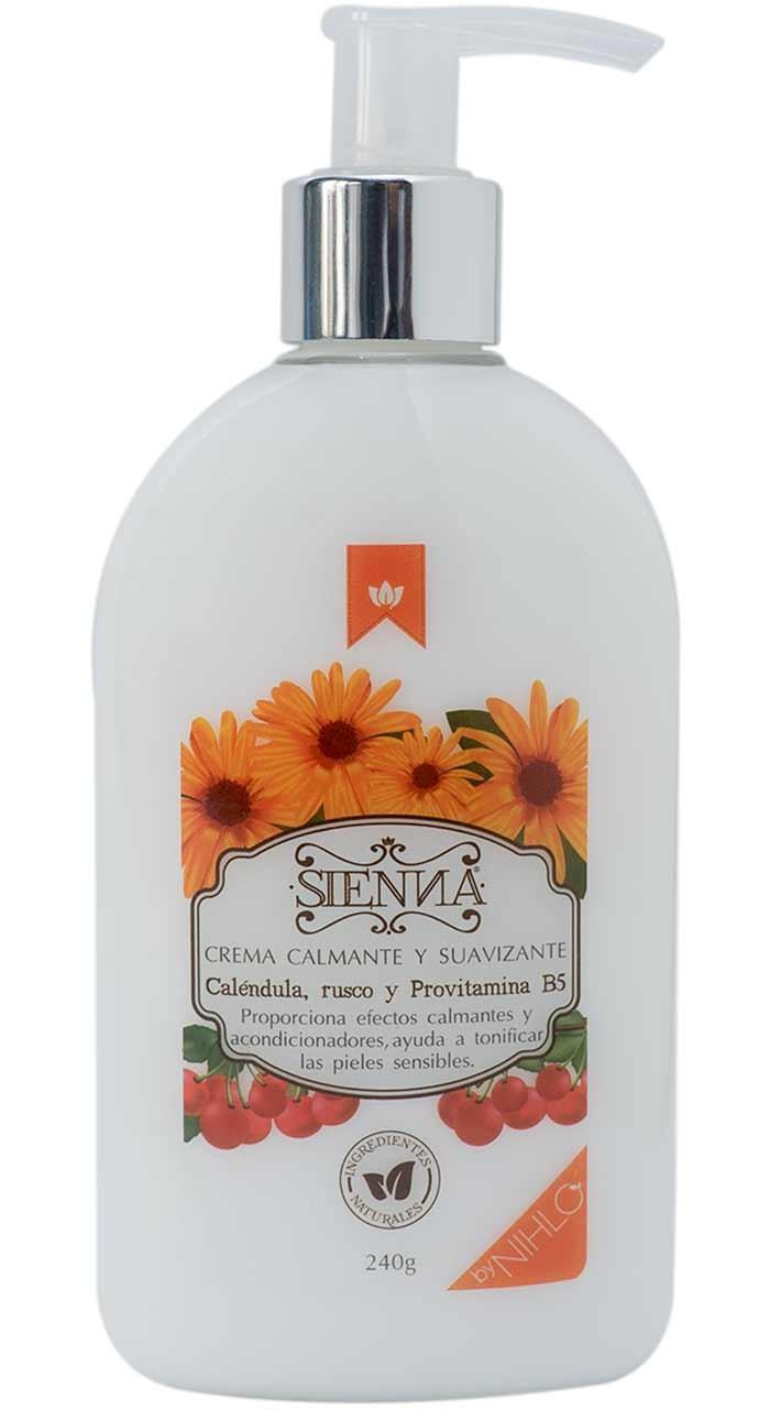 Crema caléndula Sienna 240g
