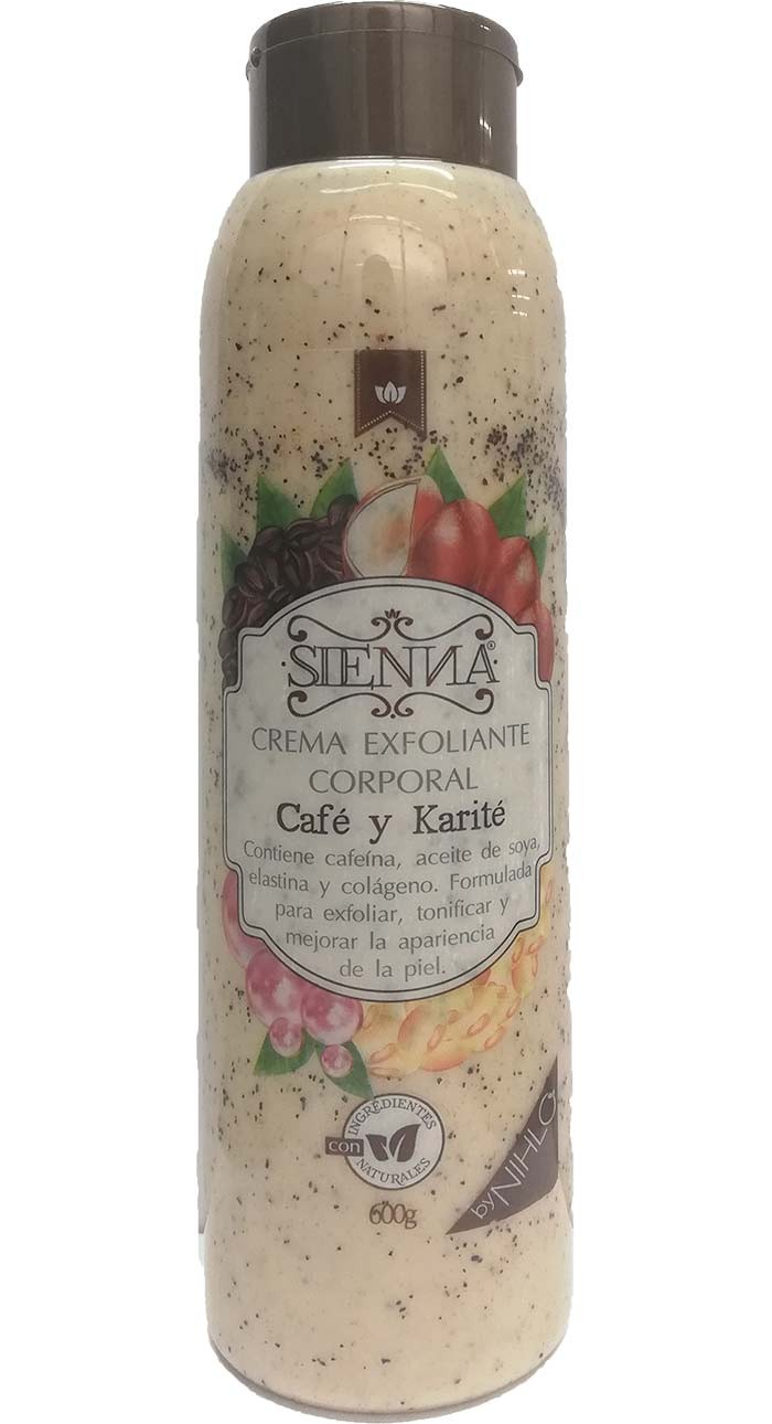 CREMA EXFOLIANTE DE CAFÉ Y KARITÉ
