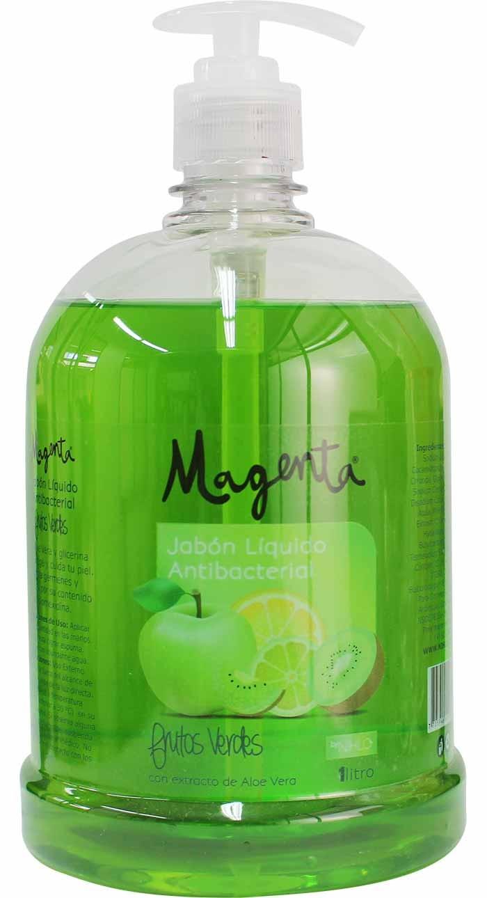 Jabón Líquido Antibacterial Frutos Verdes 1 litro