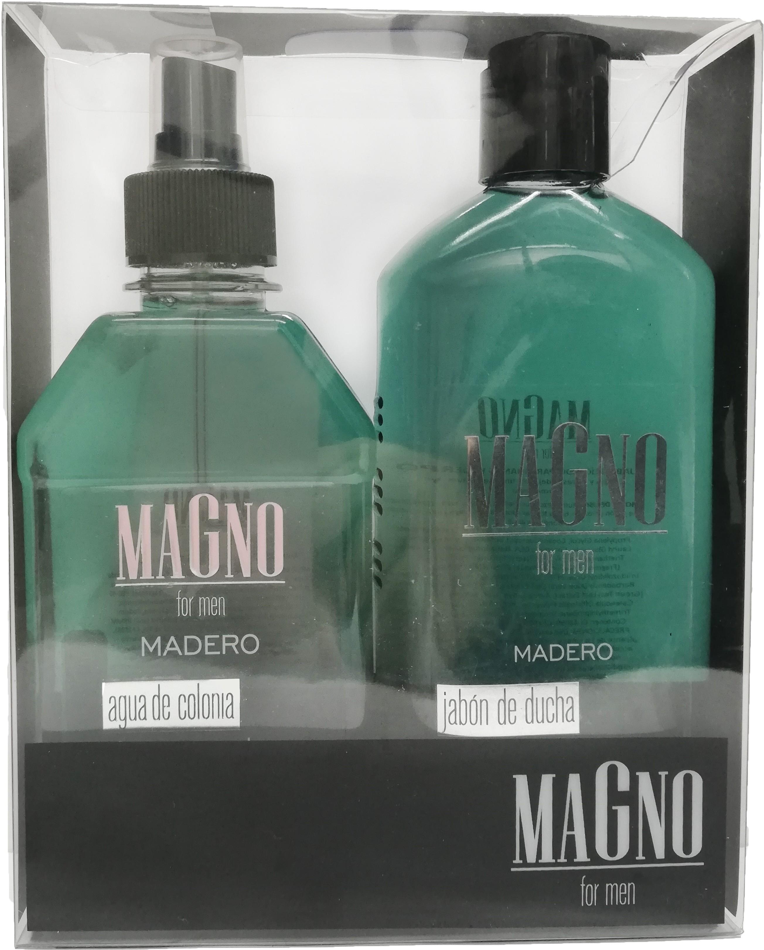 Kit Gel de ducha+ Agua de Colonia Madero. Magno