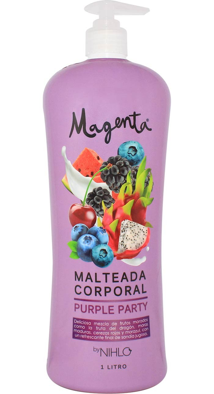 Malteada Corporal Purple party  1lt