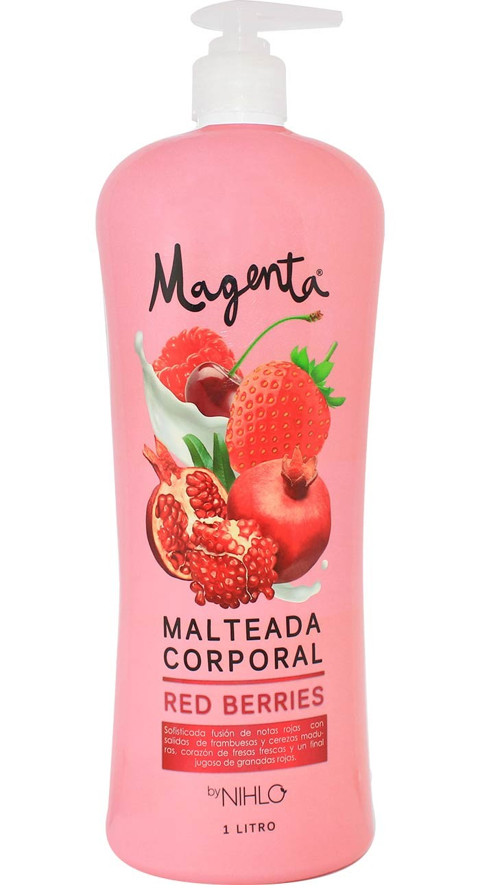 Malteada Corporal Red Berries 1lt