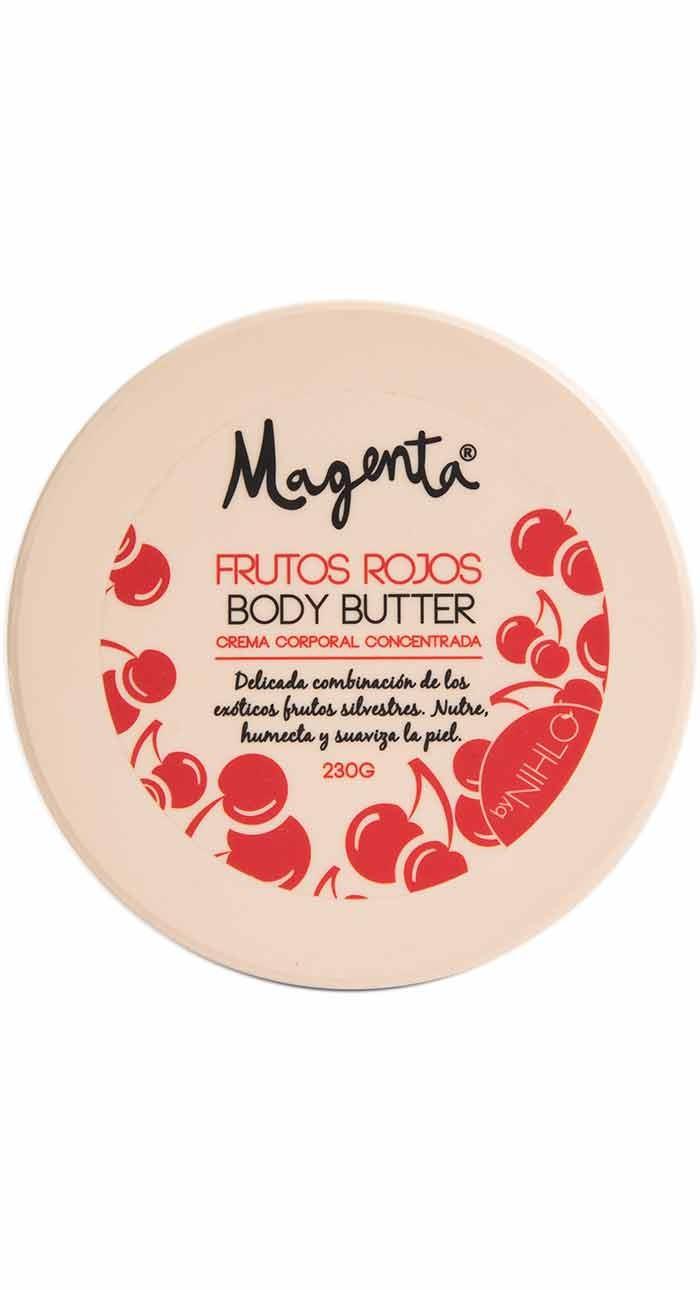 Mantequilla Corporal frutos rojos 230 gr