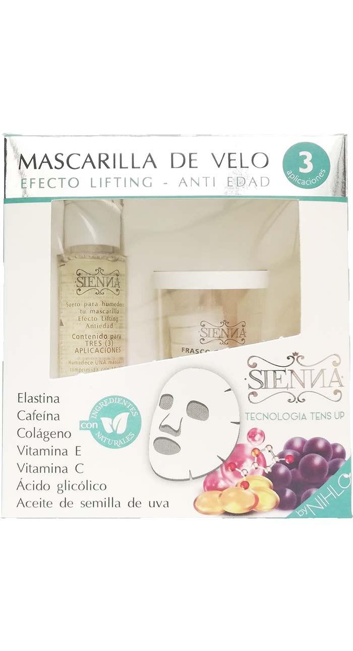 Mascarilla de Velo Efecto lifting Antiedad x 3