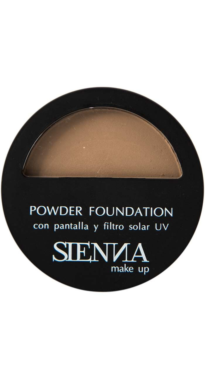 Polvo Compacto Sienna Makeup Almond