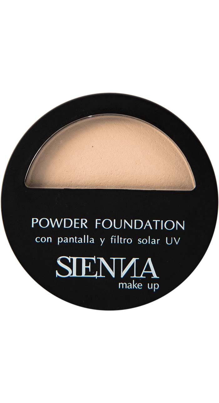 Polvo Compacto Sienna Makeup Light