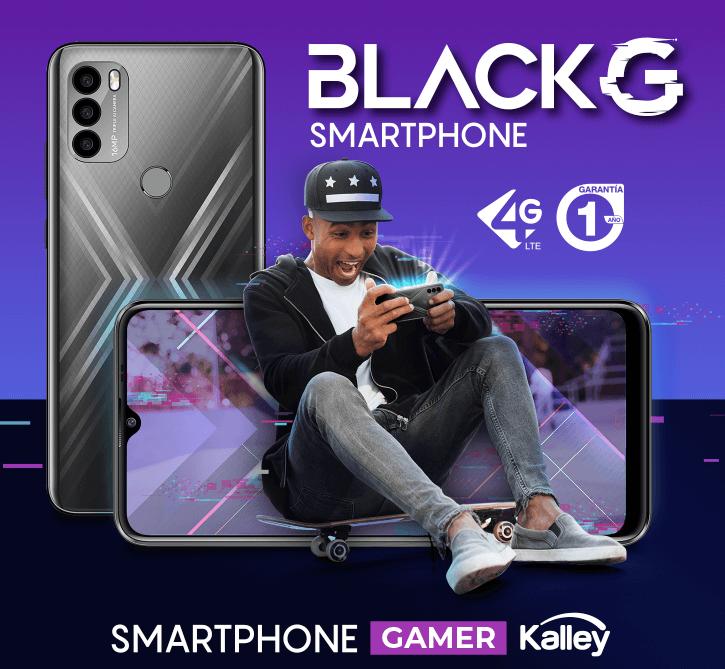 Kalley Black G Smarthphone