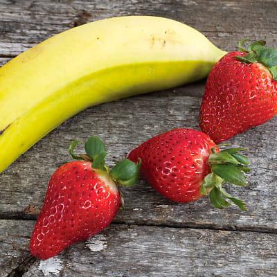 Receta Kalley para batido de banano y fresa
