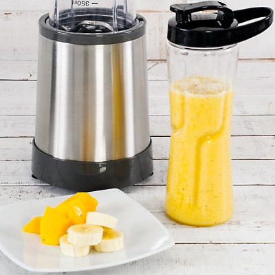 Receta Kalley para batido de mango banano y coco