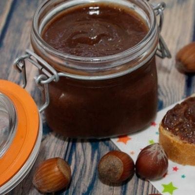 Receta Kalley para crema de mani y chocolate