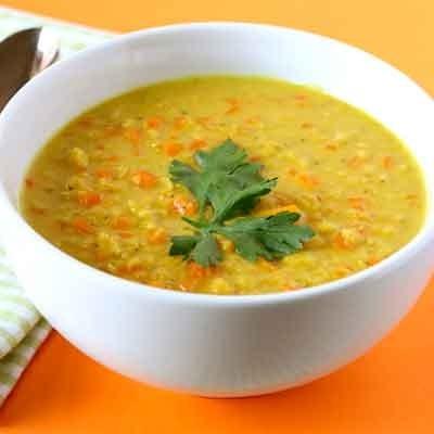 Receta Kalley para lentejas al curry