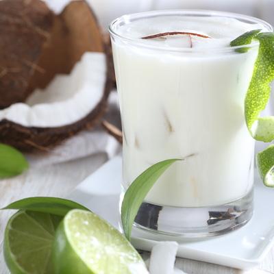 Receta Kalley para limonada de coco
