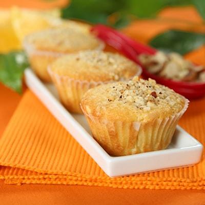 Receta Kalley para muffin naranja