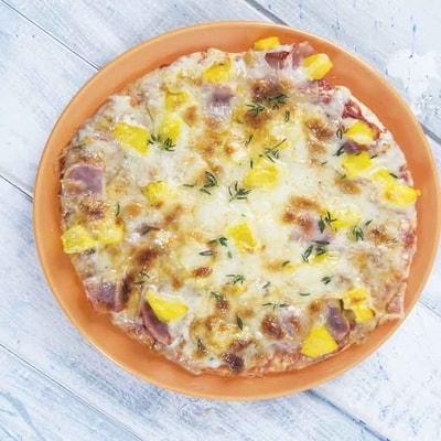 Receta Kalley para pizza hawaiana