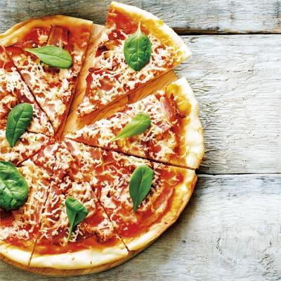 Receta Kalley para pizza con pan pita