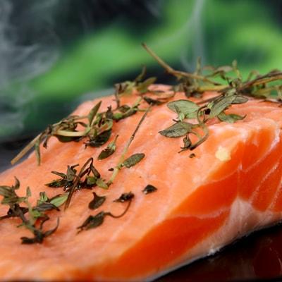 Receta Kalley para salmón a la papillote