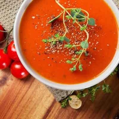 Receta Kalley para sopa de tomates asados
