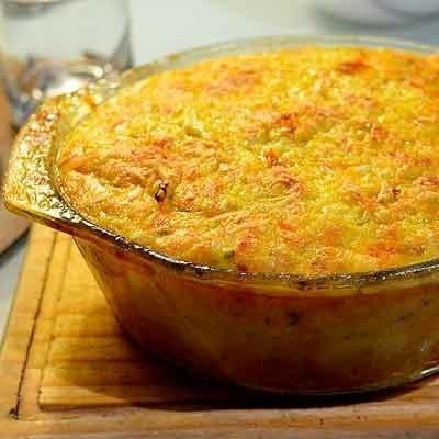 Receta Kalley para soufle de verduras