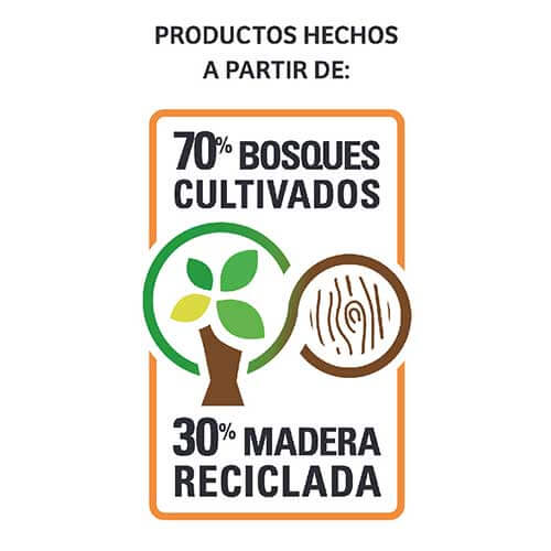 70% bosques cultivados