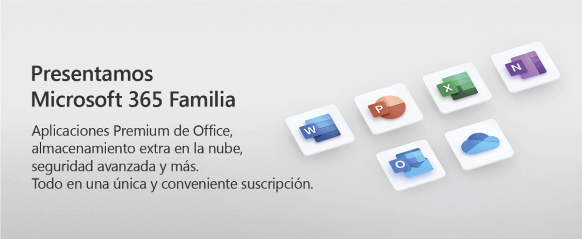 microsft office familia