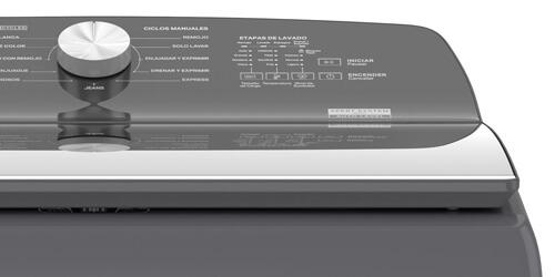 Lavadora Whirlpool 8MWTWLA31WJG Diseño simple de líneas elegantes.