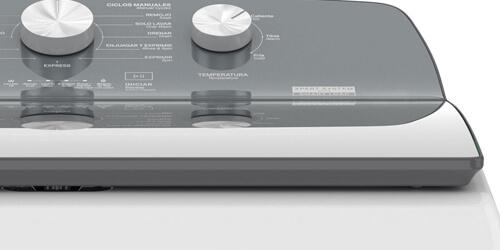 Lavadora Whirlpool 8MWTWCO13WJM Diseño simple de líneas elegantes.