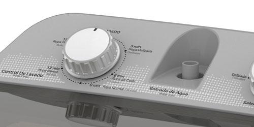 Lavadora Acros 7501545637353 Diseño simple de líneas simples.