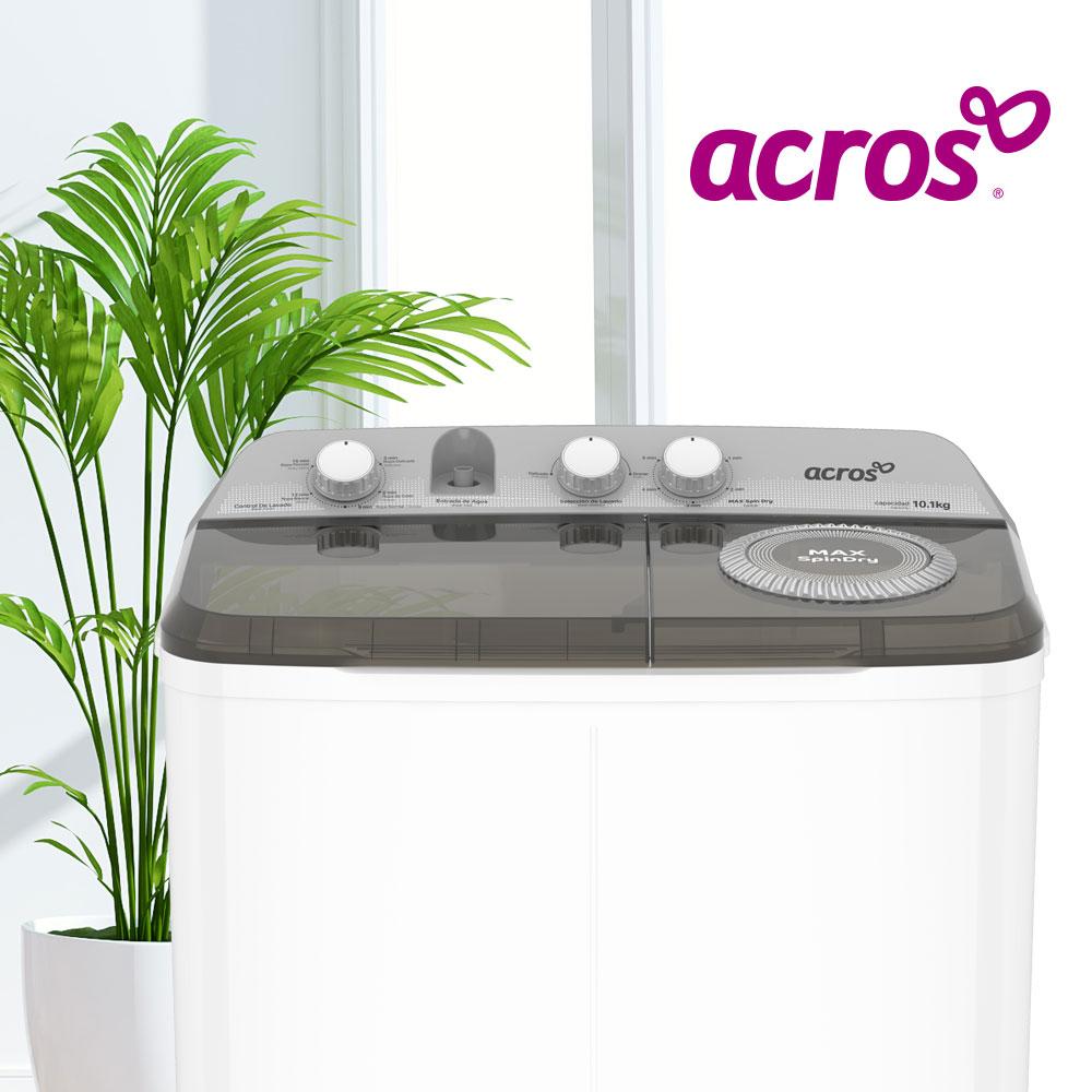 Lavadoras Acros 7501545637353 Con 2 tinas y 5 ciclos de lavado.