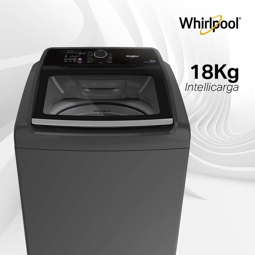 Lavadoras Whirlpool 7709745466913 10 ciclos automáticos y 18 Kg de capacidad.