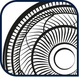 Rejillas aerodinámicas y seguras para mayor flujo de aire