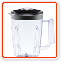 Vaso de lucuadora de 2 litros