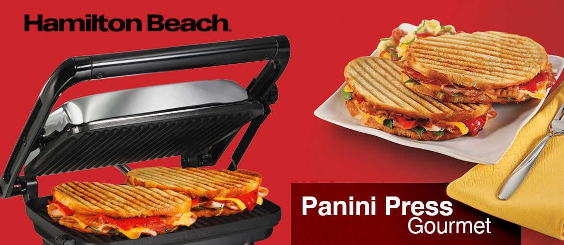 Panini press gourmet