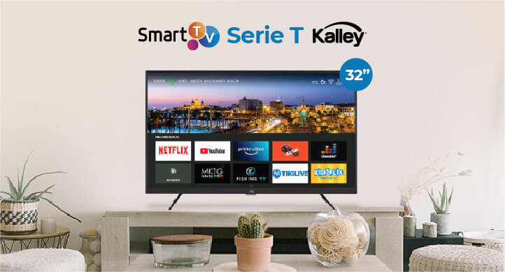 Smart tv kalley serie t
