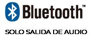 bluetooth solo salida de audio